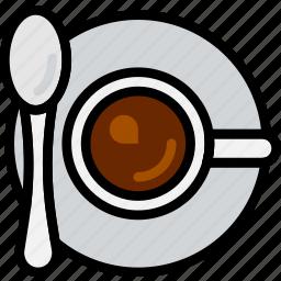 cafe, caffeine, coffee, cup, shop icon