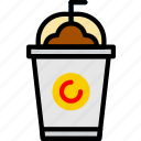 cafe, caffeine, coffee, frappe, shop icon