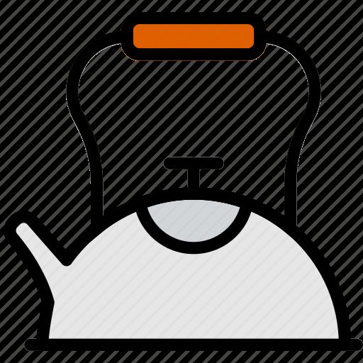 cafe, caffeine, coffee, kettle, shop, tea icon