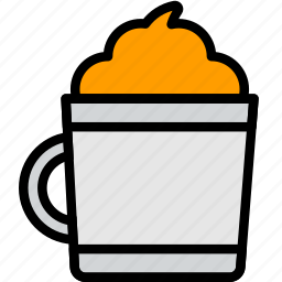 cafe, caffeine, chocolate, coffee, hot, shop icon