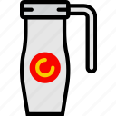 cafe, caffeine, coffee, shop, thermos icon