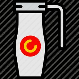 cafe, caffeine, coffee, shop, thermos icon