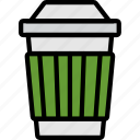 cafe, caffeine, coffee, cup, shop icon