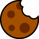 cafe, caffeine, coffee, cookie, shop icon