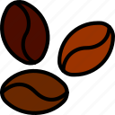 beans, cafe, caffeine, coffee, shop icon