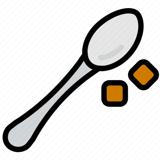 cafe, caffeine, coffee, shop, spoon icon