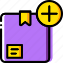 add, delivery, logistic, transport icon