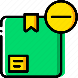 delivery, logistic, substract, transport icon