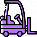 delivery, forklift, logistic, transport