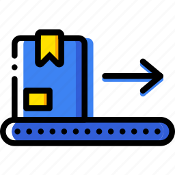 belt, conveior, delivery, logistic, transport icon