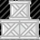 box, deliver, delivery, logistic, transport