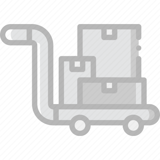 delivery, forklift, logistic, transport icon