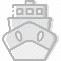 boat, delivery, logistic, transport icon