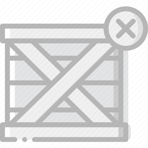 delete, delivery, logistic, transport icon