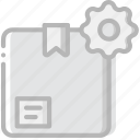 delivery, logistic, settings, transport icon