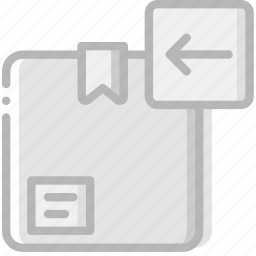 delivery, logistic, transport, upload icon