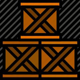box, deliver, delivery, logistics, transport icon