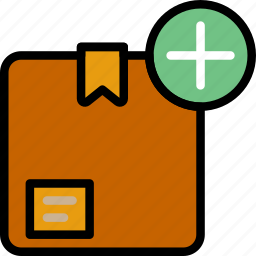 add, delivery, logistics, transport icon