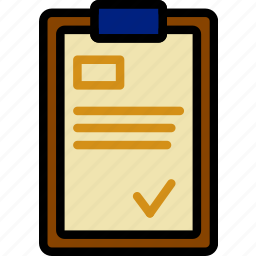 clipboard, delivery, logistics, transport icon