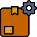 delivery, logistics, settings, transport icon