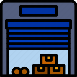 delivery, logistics, storage, transport icon