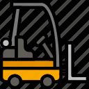 delivery, forklift, logistics, transport