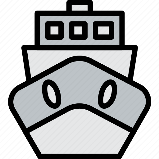 boat, delivery, logistics, transport icon
