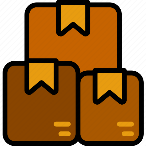 boxes, delivery, logistics, transport icon