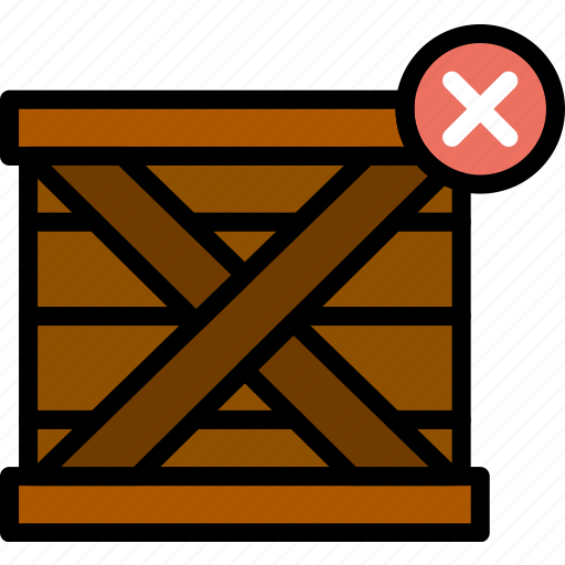 delete, delivery, logistics, transport icon