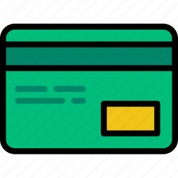 card, credit, delivery, logistics, transport icon