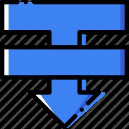 backwards, design, graphic, sent, tool icon