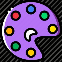 color, design, graphic, pallette, tool icon