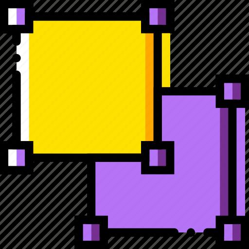 design, graphic, tool, ungroup icon