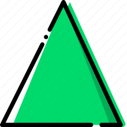 design, graphic, tool, triangle icon