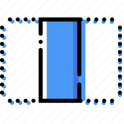align, center, design, graphic, horizontally, tool icon