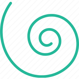 design, graphic, spiral, tool icon