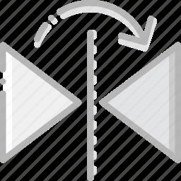 design, graphic, horizontally, mirror, tool icon