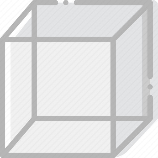 cube, design, graphic, tool icon