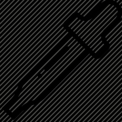 design, empty, eyedropper, graphic, tool icon