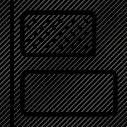 align, design, graphic, horizontal, left, tool icon