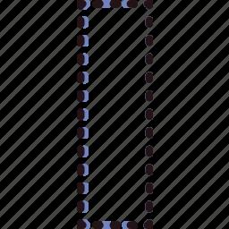 column, design, graphic, marquee, tool icon