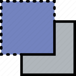 back, design, graphic, minus, tool icon