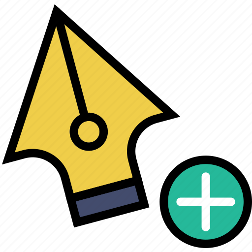 add, anchor, design, graphic, point, tool icon