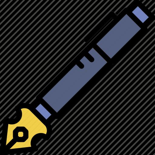 Pen, graphic, design, tool icon