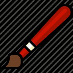 brush, design, graphic, tool icon