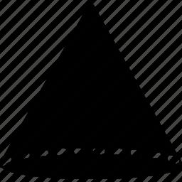 cone, design, graphic, tool icon