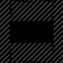 align, center, design, graphic, tool, vertically icon