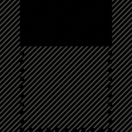 align, design, graphic, tool, top, vertically icon