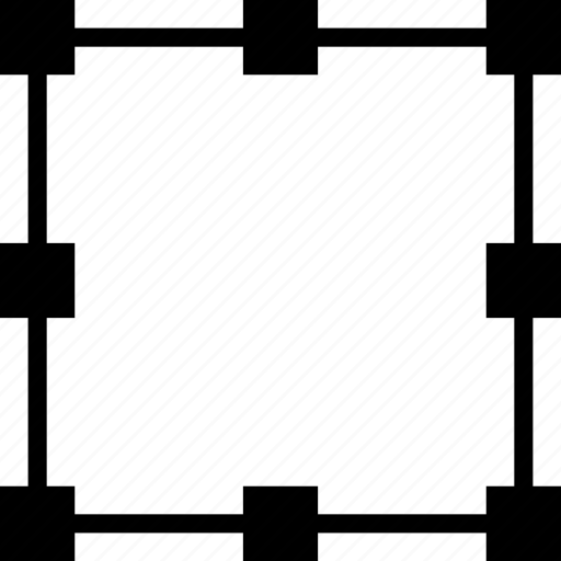 box, design, edit, graphic, rounding, tool icon