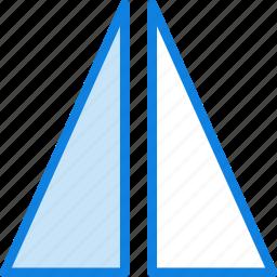 design, flip, graphic, horizontally, tool icon